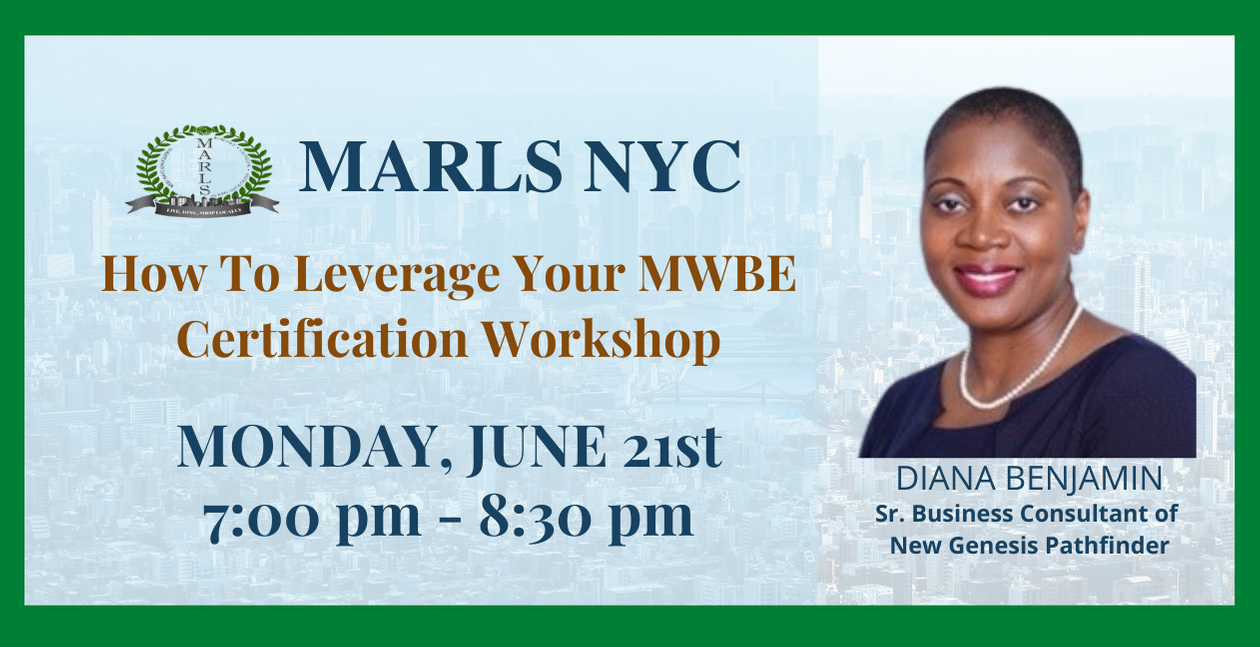 How to leverage MWBE Workshop